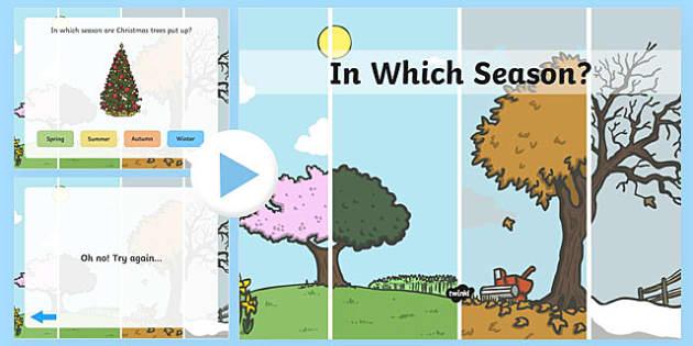Australian Which Season is it? Quiz PowerPoint - seasons, weather, quiz , waether, WHEATHER, seaons, wetaher, weaher