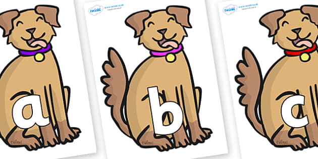 Phoneme Set on Dog - Phoneme set, phonemes, phoneme, Letters and Sounds, DfES, display, Phase 1, Phase 2, Phase 3, Phase 5, Foundation, Literacy