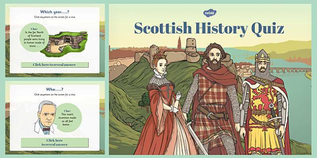 Scottish History Timeline Quiz - scottish, history, timeline