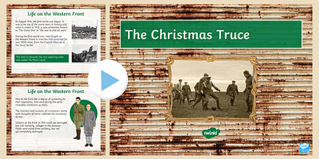 The Christmas Truce 1914 PowerPoint