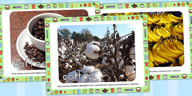Fairtrade Display Photo PowerPoint - fairtrade, discussion prompt