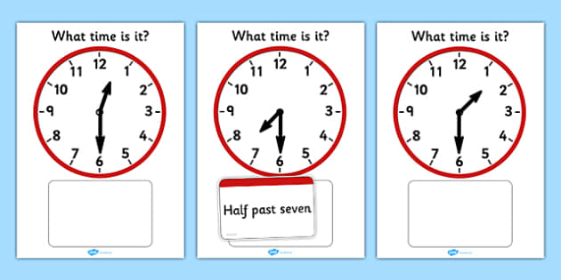 Analogue Clocks Matching Game - Clock time matching game, Time, Time resource, Time vocabulary, clock face, O'clock, half past, quarter past, quarter to, shapes spaces measures, clock game, time game, foundation stage, KS1