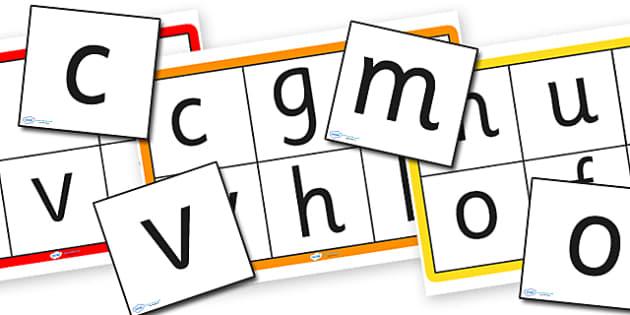 Alphabet Bingo to Support Teaching on Pig in the Pond - pig in the pong, alphabet bingo, the pig in the pond bingo, bingo, alphabet, the pig in the pond alphabet