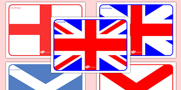 The Union Flag and Flags of the British Isles Display Posters - cfe, union flag, british isles, display, posters