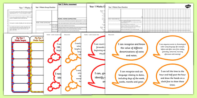 2014 Curriculum Year 1 Maths Assessment Resource Pack - numeracy