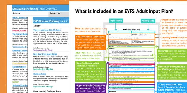 EYFS Bumper Planning Pack Overview