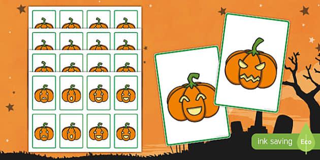 Halloween cartas de jugar
