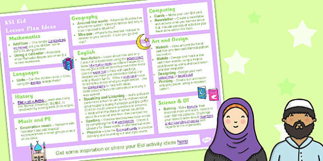 Eid KS1 Lesson Plan Ideas - Eid, Lesson, Plan, Ideas, KS1
