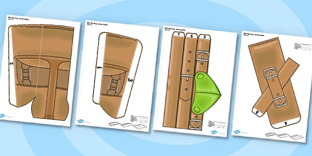 Robin Hood Printable Role Play Quiver - robin hood, role-play
