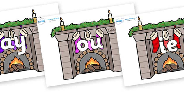 Phase 5 Phonemes on Fireplaces - Phonemes, phoneme, Phase 5, Phase five, Foundation, Literacy, Letters and Sounds, DfES, display