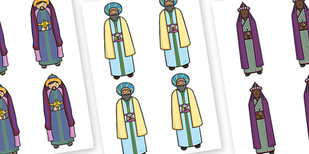 Three Kings Editable - three kings, editable, display, editable