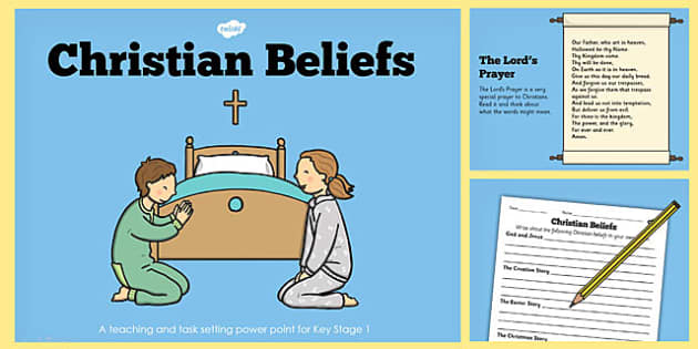 Christian Beliefs Teaching Lesson Pack - christian, teaching, pack
