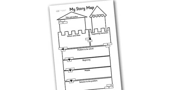 Traditional Tale Story Map Worksheet traditional tale story – Story Map Worksheet