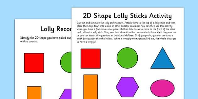 2D Shape Wriggly Worm Activity EYFS Resource Pack - EYFS planning, early years activities, shape space and measure