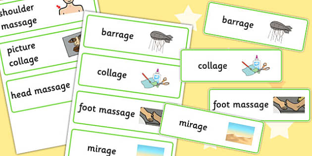 Final 'zh' Sound Word Cards - zh sound, final, word cards, cards
