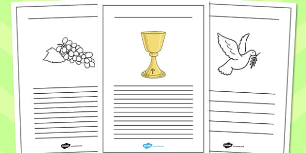 Confirmation Writing Frames - confirmation, writing frames, write