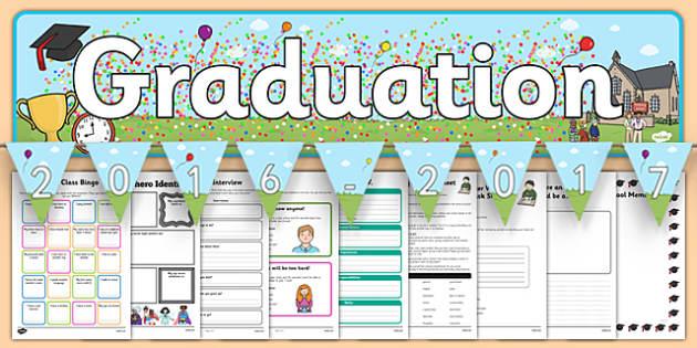 KS2 Transition Pack - ks2, transition, pack, school leavers, graduation