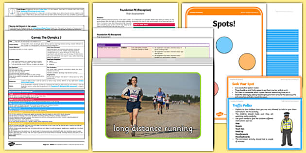 Foundation PE (Reception) - Games - The Olympics Lesson Pack 3: Run, Run as Fast as You Can - Olympics, EYFS, PE, Physical Development, Planning
