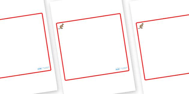 Kangaroo Themed Editable Classroom Area Display Sign - Themed Classroom Area Signs, KS1, Banner, Foundation Stage Area Signs, Classroom labels, Area labels, Area Signs, Classroom Areas, Poster, Display, Areas
