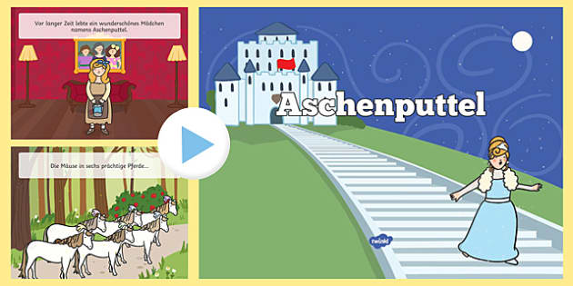 Cinderella German Translation PowerPoint