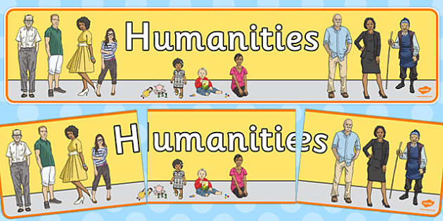 Humanities Display Banner - humanities, display banner, display, banner