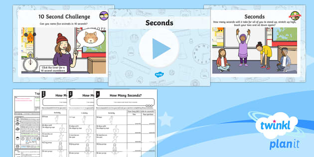 PlanIt Y1 Measurement Lesson Pack - Measurement, measuring, measure and record, time, second, stopwatch, timer.