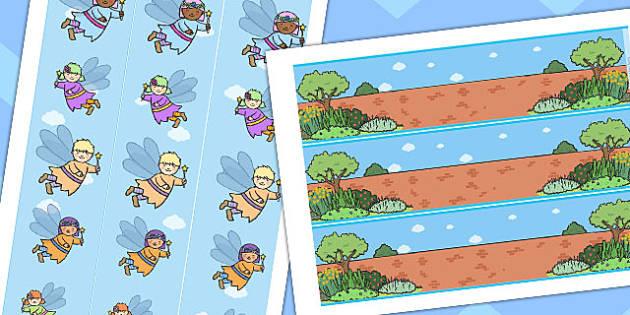 Fairy Garden Display Border - fairy, garden, display, border