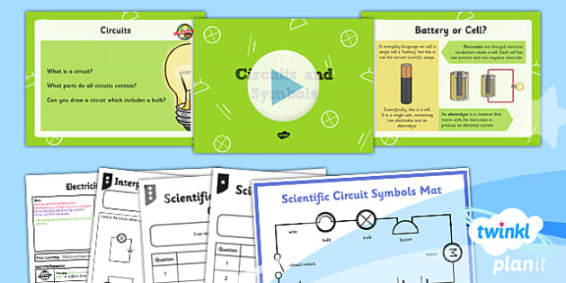 PlanIt - Science Year 6 - Electricity Lesson 2: Circuits and Symbols Lesson Pack - circuit, symbols, scientific, pictures, diagram