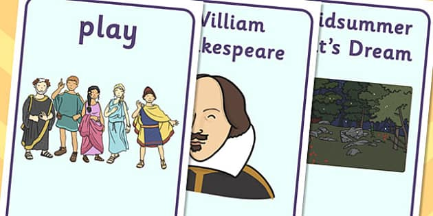 A Midsummer Nights Dream Display Posters - shakespeare, display