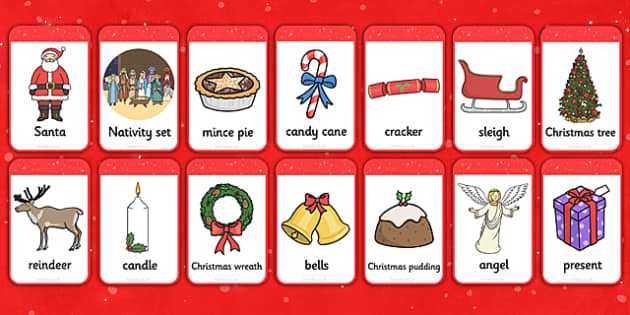 Christmas Picture Cards - christmas, picture cards, picture, cards, holiday, activity