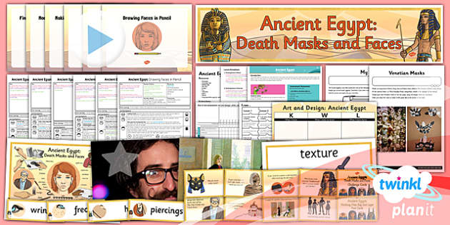 PlanIt - Art UKS2 - Ancient Egypt Unit Pack