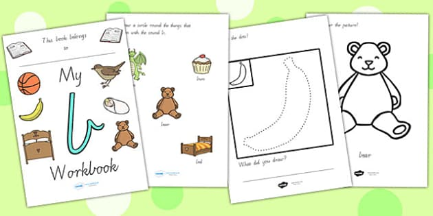 My Workbook A Lowercase Vic - letter formation, writing, tracing
