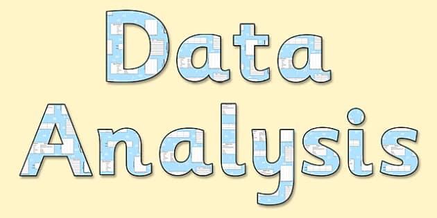 'Data Analysis' Display Lettering - data analysis lettering, data analysis, data analysis display, data lettering, data anyalysis themed lettering, ks2