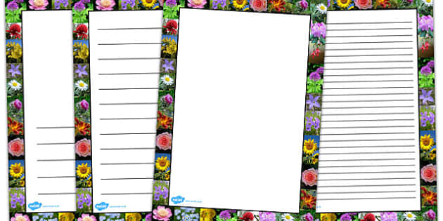 Flower Photo Page Borders - Australia, Flower, Photo, Page, Plant