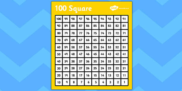 Common Worksheets » 100 Square Activities Ks1 - Preschool and ...