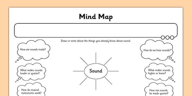 Sound Map Activity Sheet - activity sheet, sound map, sound, map, activity, sheet, worksheet