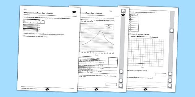 Year 6 Maths Assessment Term 3 Statistics -Key Stage 2, KS2, Maths, assessment, statistics, reasoning, handing data