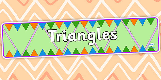 Triangles Display Banner - triangles, triangles display banner, triangles banner, triangles display, display banner, banner
