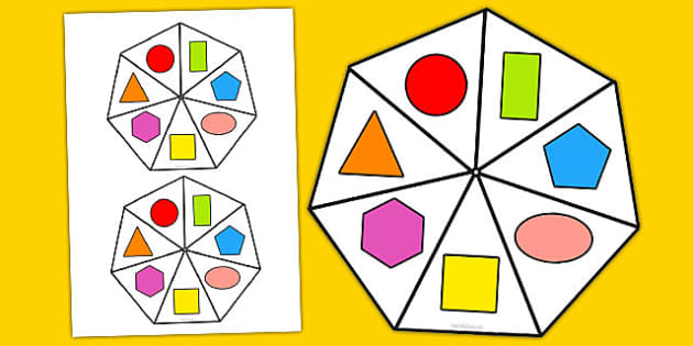 2D Shape Spinner - 2d shape, spinner, 2d, shape, numeracy, maths