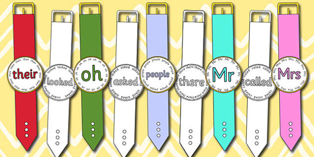 Phase 5 Tricky Word Watches - phase 5, tricky, word, watches