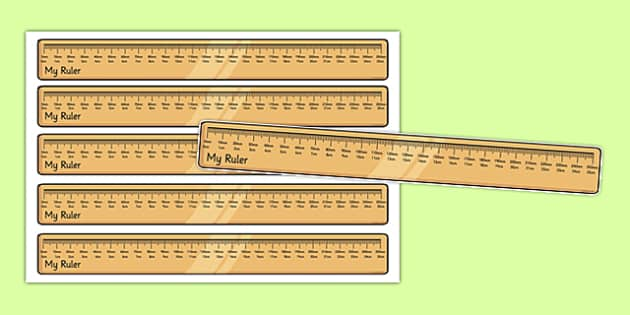 Centimetres and Millimetres Ruler Cut Outs - centimetres, millimetres, display, cut outs, ruler