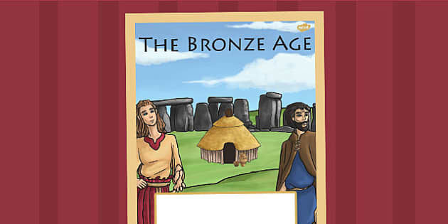 The Bronze Age Book Cover - bronze age, folder cover, history