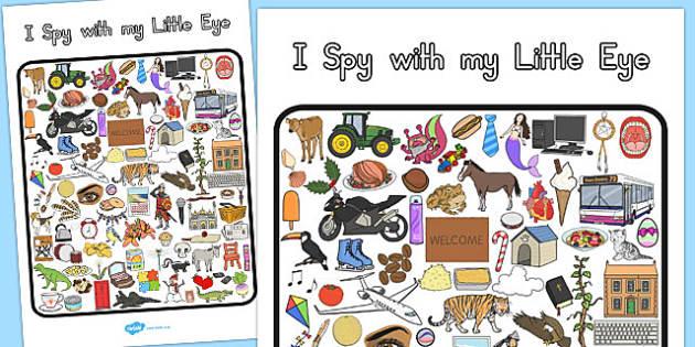 I Spy With My Little Eye Activity 3 - australia, I spy, activity