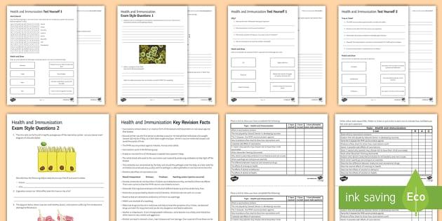 Health and Immunisation Assessment Package  - Assessment Package, health, immunisation,  vaccination, Edward Jenner, MMR, antibiotics