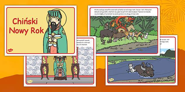 Legenda o Chińskim Nowym Roku po polsku - Chiny, zodiak