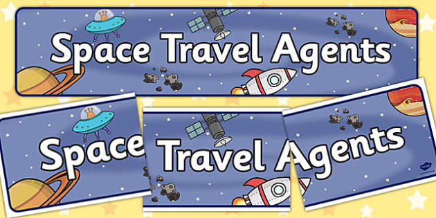 Space Travel Agents Role Play Banner - role play, roleplay, roleplaying, space travel, space travel role play banner, space travel banner, travel agents role play banner, acting, role-play, role-playing