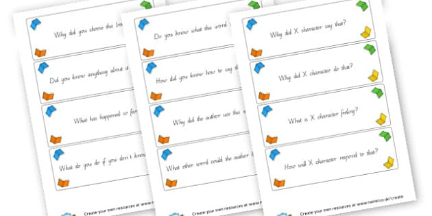 Key Stage 2 Reading Questions - Reading Area Primary Resources, signs, area, zones, banner, poster