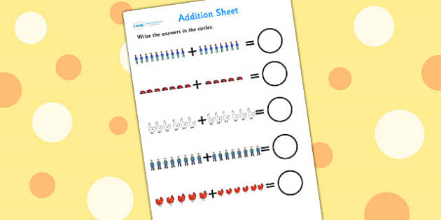 Up to 20 Addition Sheet to Support Teaching on What the Ladybird Heard - what the ladybird heard, up to 20, addition sheet, addition, adding, addition worksheet, themed addition