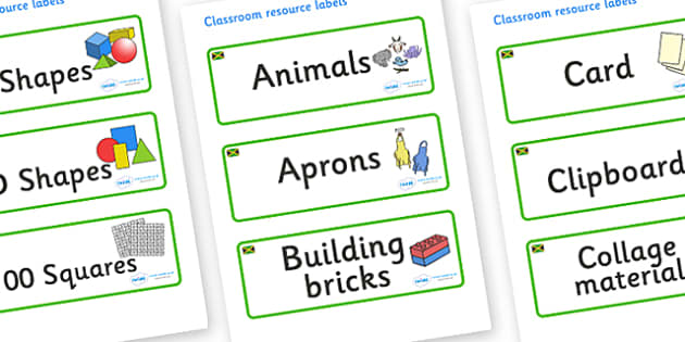 Jamaica Themed Editable Classroom Resource Labels - Themed Label template, Resource Label, Name Labels, Editable Labels, Drawer Labels, KS1 Labels, Foundation Labels, Foundation Stage Labels, Teaching Labels, Resource Labels, Tray Labels, Printable l