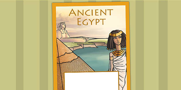 Ancient Egypt Book Cover - egyptians, ancient egyptians, history